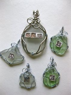 Dollar Store Crafts » Blog Archive » Make a Sea Glass Pendant.....good idea for the beach glass we have found while on vacations.