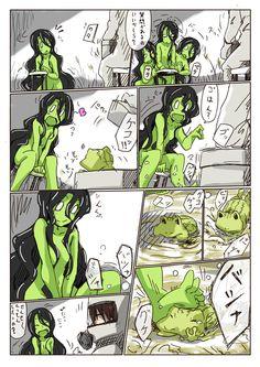 SCP  811 The Swamp Woman Mini Comic (2)