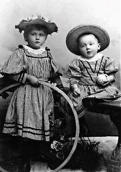 antique photo ... children