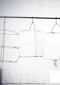 Koushi lampshade by Mark Eden Schooley DIY project??