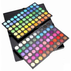 Palette de 120 couleurs fard à paupière - bestyle29.com
