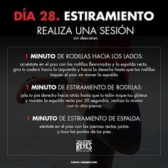 Día 28. Estiramiento. #RetoDelBoxeador #Box #Boxing #CletoReyes #workout #training