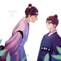 Lee Yeong & Hong Raon | Fanart | @Dragon_Way