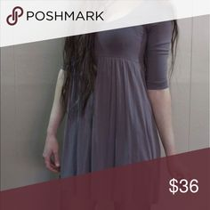 Mauve babydoll dress Soft, stretchy, and oh-so flattering. Dress up or down. Offers accepted. H&M Dresses Mini