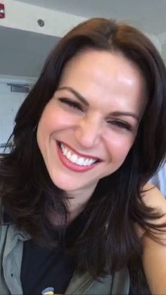 Awesome Lana smiling/laughing #NJOnceCon #Whippany #NJ Saturday 6-4-16