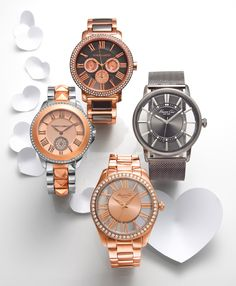 V-day gift: It's time for love! VINCE CAMUTO & KENNETH COLE #watch BUY NOW