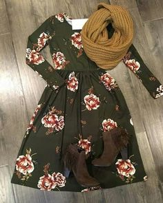 Love everything about this! This would also be really cute with a cardigan (long or short), or even a jean vest!