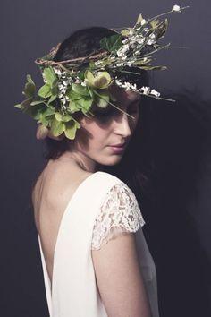 Coiffure mariage : La petite robe parfaite par Stéphanie Wolff