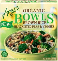 A balanced combination of organic brown rice and black-eyed peas with organic broccoli and carrots in a tasty ginger sauce. It's just plain down home good eating!