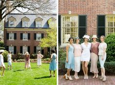 downton abbey themed bridal tea and luncheon at the carolina inn