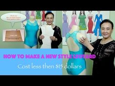 """How to make a leotard """"new style leotard"""" video #30 - YouTube"""