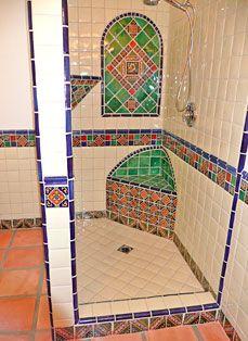 Mesmerizing Mexican Tile Bathroom Ideas | Bathroom, Bathroom Ideas And Ideas