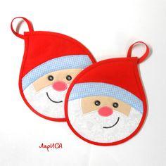 Christmas potholders