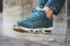 "Nike WMNS Air Max 95 Premium ""Smokey Blue"" - EU Kicks Sneaker Magazine"
