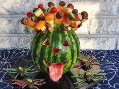 Celebration Treats Melonipää ja Hopeatoffeehämppikset - Halloween, osa V Watermelon, Treats, Fruit, Halloween, Celebration, Food, Sweet Like Candy, Goodies, Essen