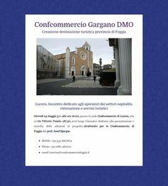 Confcommercio Gargano DMO  Incontro di Lucera 23 maggio 2013