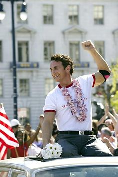 """"""" Sean Penn is honored his second Oscar for his dynamic portrayal of San Francisco gay activist and martyr, Harvey Milk. Nominated for eight Academy Awards, the film also won for Dustin Lance Black's original screenplay. Harvey Milk, Sean Penn Milk, Gay Rights Movement, Lgbt History, Lance Black, Lgbt Rights, Human Rights, Bros, Best Actor"""