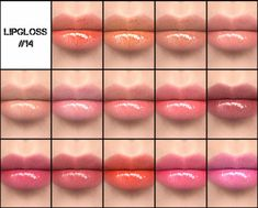 Sims 4 CC makeup - lipgloss Les Sims 4 Pc, Sims Four, Sims 4 Mm, Sims 4 Teen, Sims 4 Toddler, The Sims 4 Skin, Sims 4 Game Mods, Sims Games, Sims 4 Cc Eyes