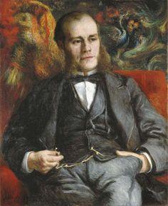 Pierre-Auguste Renoir (1841-1919) Portrait de Pierre-Henri Renoir (the artist's brother)