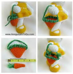 Carrot Purse For your bunny!