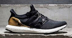 adidas Ultra Boost Black/Gold