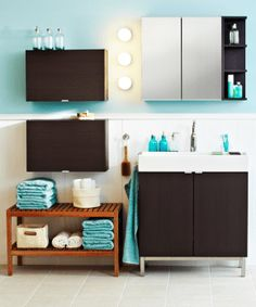 Organize your bathroom Bathroom decor Storage
