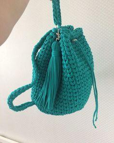 WEBSTA @ l_yarn - Спасибо за красоту @kseniamusina вы просто волшебницаНу то что рюкзак из нашей пряжи эт 100%Просто нереально крутойЛетом, такая прелесть просто необходима!!!