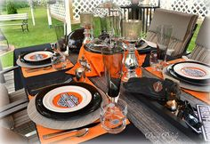 Dining Delight: Harley Davidson Table for Father's Day