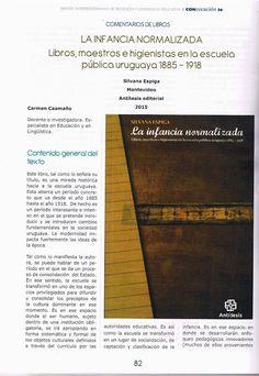 Antítesis Editorial: Reseña de LA INFANCIA NORMALIZADA, de Silvana Espi...