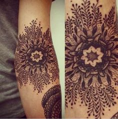 It would be a badass snowflake tattoo. I can dig that.