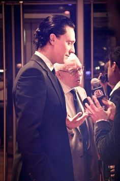 Tom Hiddleston at TIFF 2011