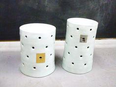 porcelain stools by stepanka ceramics