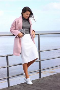 I love Fita Métrica: Oversized Pink Coat