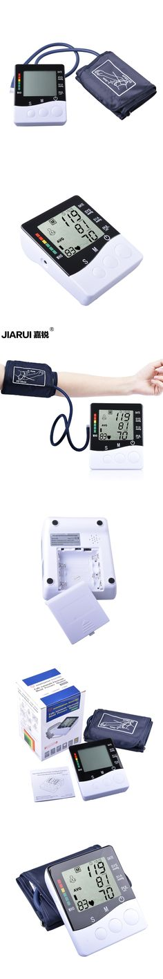 Blood Pessure Monitor Health Care Fully Automatic Electronic Blood Pressure Arm Monitor Sphygmomanometer Tensiometros