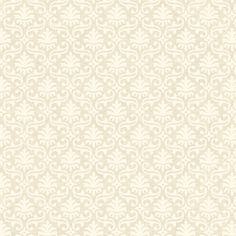 """Heritage Home 27' x 27"""" Damask Distressed Wallpaper"""