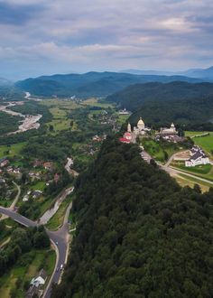 Monastery of Jasna Gora overlooking Hoshiv in Ivano-Frankivsk - ukraine Charity Foundation, All Friends, Here And Now, Travel Advice, Ukraine, Grand Canyon, Outdoor, Outdoors, Outdoor Games