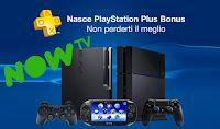 Caffè Letterari: PlayStation Plus: Bonus a maggio e due mesi di NOW...