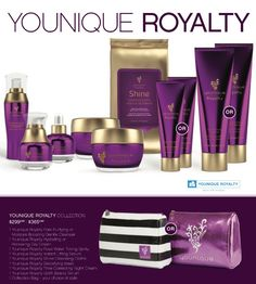 Younique new fall collection: Younique Royalty  Best skincare line available! #younique #prepyourcanvas #BeautybyHeatherRae