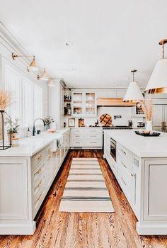 Home Interior Decoration .Home Interior Decoration Home Decor Kitchen, Kitchen Interior, Home Kitchens, Kitchen Design, Small Kitchens, Kitchen Ideas, Design Bathroom, Farmhouse Kitchen Decor, Dream House Interior