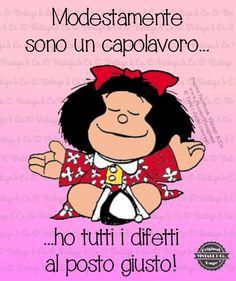 Mafalda - un'altra come me . Humor Vintage, Funny Images, Funny Pictures, Mafalda Quotes, Italian Quotes, Frases Humor, Facebook, Sonos, Vignettes