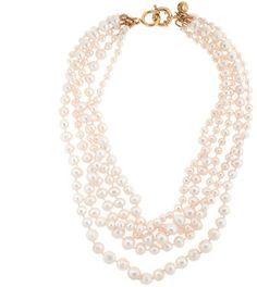 J.Crew Pearl twisted hammock necklace on shopstyle.com