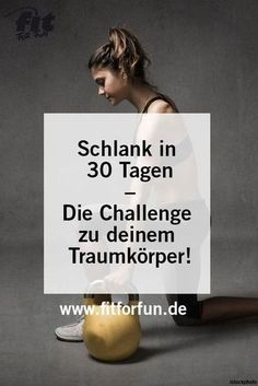 In nur vier Wochen stärker, fitter und schlanker: Klar geht das! Bis zu fünf K… Stronger, fitter and leaner in just four weeks: that's clear! You can lose up to five kilos with this challenge. A start is possible at any time! Fitness Workouts, Fitness Herausforderungen, Sport Fitness, Fitness Quotes, Fun Workouts, Health Fitness, Body Workouts, Month Workout Challenge, Workout Schedule