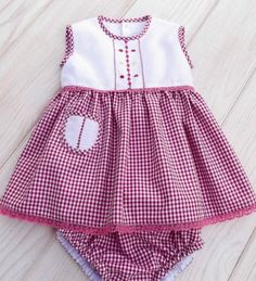 Newborn baby clothes are good quality, cozy and are all oh-so-cute! Girls Dresses Sewing, Stylish Dresses For Girls, Dresses Kids Girl, Kids Outfits Girls, Dresses Dresses, Kids Girls, Party Dresses, Baby Girls, Summer Dresses