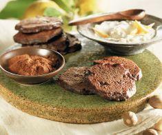 Blinis di patate al cioccolato con salsa di rafano - Tutte le ricette dalla A alla Z - Cucina Naturale - Ricette, Menu, Diete