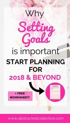 Have you ever wondered why you need to set goals? This post outlines some important reasons. Download this free goal setting worksheet to start setting your 2018 goals, suitable for students and adults alike. #MillennialMindsetGroupBoard
