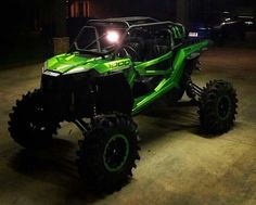 Lifted Polaris RZR