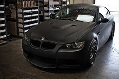 BMW 3 SERIES #FLAT BLACK #MURDERED OUT #ALL BLACK EVERYTHING