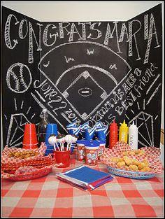 Sugar Blitz - Baseball Themed Bachelorette Party -  Snack / Dessert Table