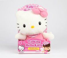 Hello Kitty Repeating Plush: Pretty Pink