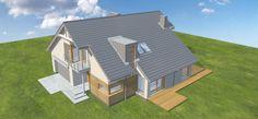 Projekt domu Doskonały 3 177,5 m2 - koszt budowy 254 tys. zł - EXTRADOM